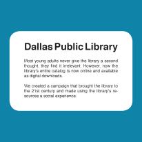 Dallas Library Blurb