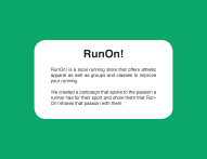 Run On! Blurb