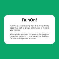 Run On! Blurb