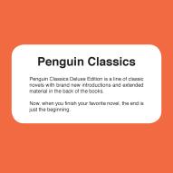 Penguin Classics Blurb