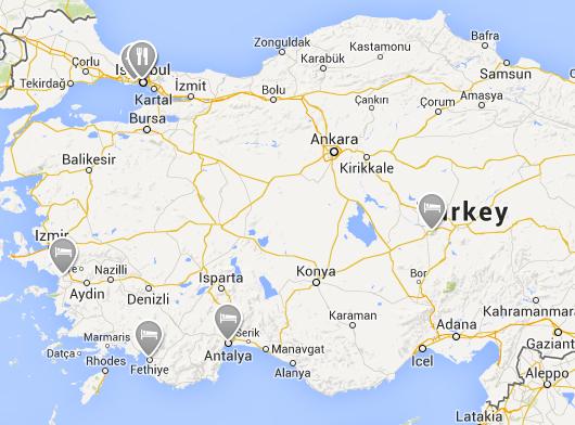 TurkeyMap